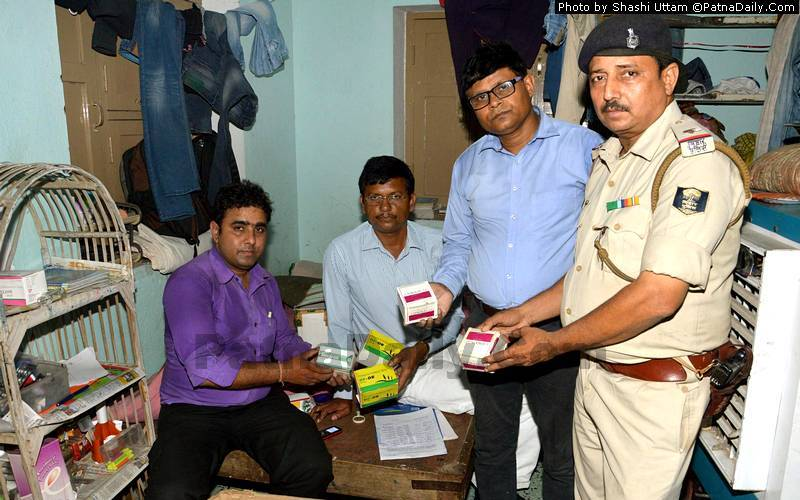 Fake and Expired Drugs Seized during City-wide Raid in Patna
