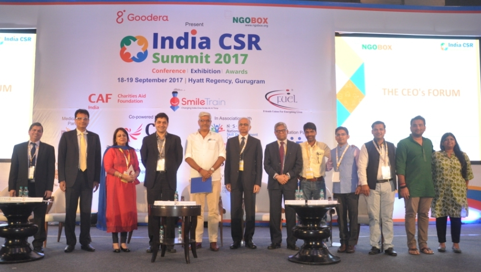 India CSR Summit 2017 discusses and debates issues related to CSR