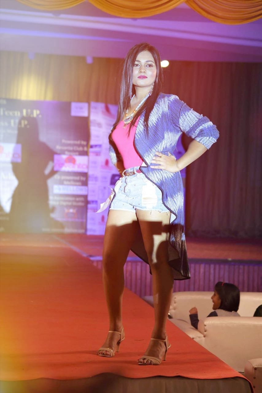 After Undergoing Spinal Surgery Lucknow Girl Wins Hearts at Beauty Pageant