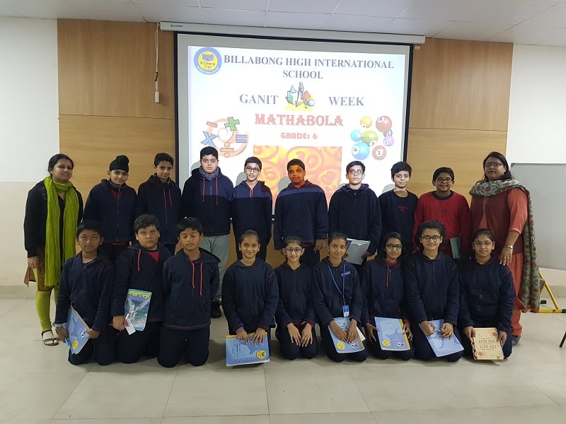 Billabong High International School – GANIT WEEK