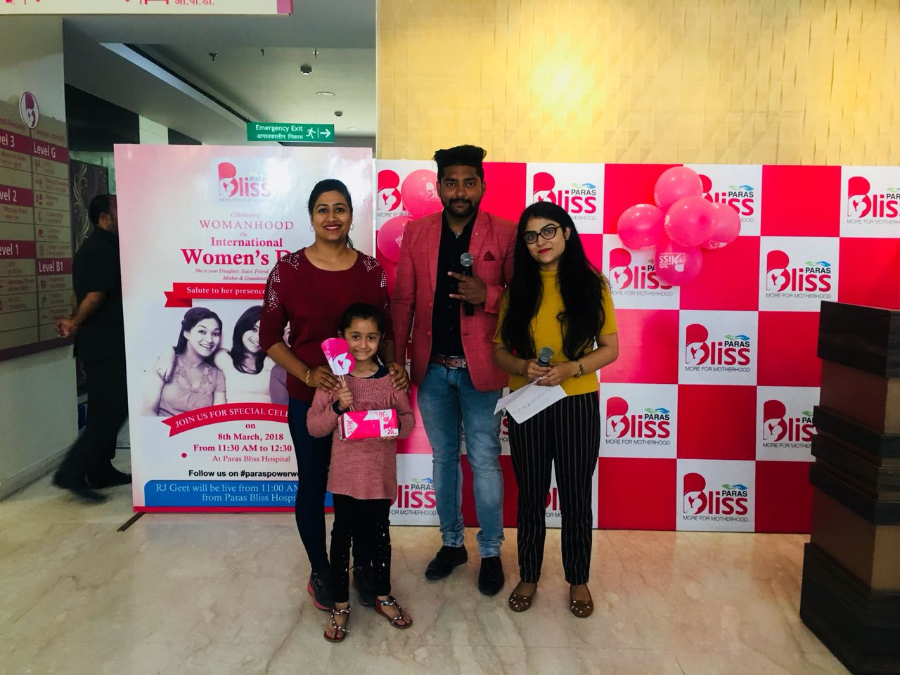 International Women's Day with Host of Activities at Paras Bliss, Panchkula