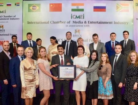 Sandeep Marwah Nominated Chair for Indo Russian Cultural Forum