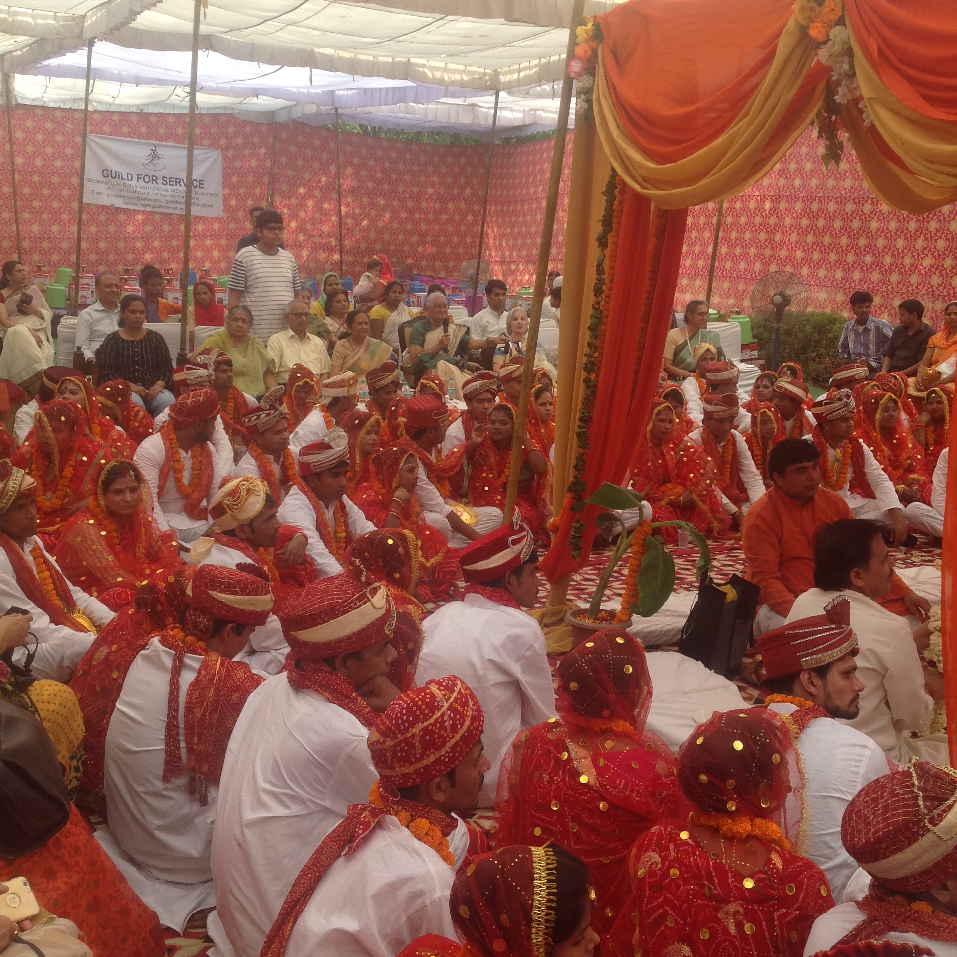 Mass wedding for underprivileged Couples