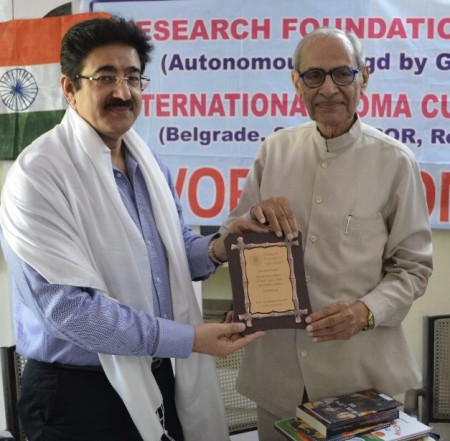 Research Foundation International Honored Dr. Marwah