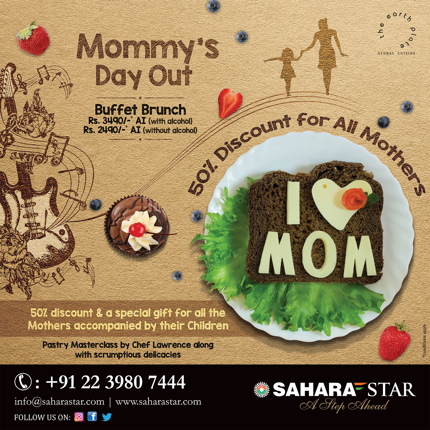 Mommy's day out at Hotel Sahara Star this Mother's Day