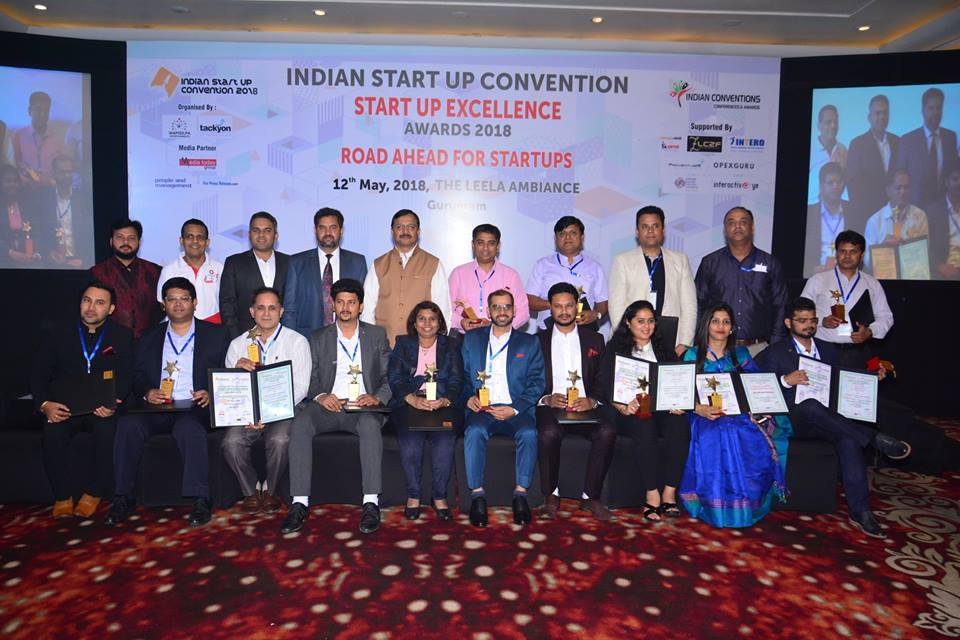 Winners of Indian Start-Up Excellence Awards 2018