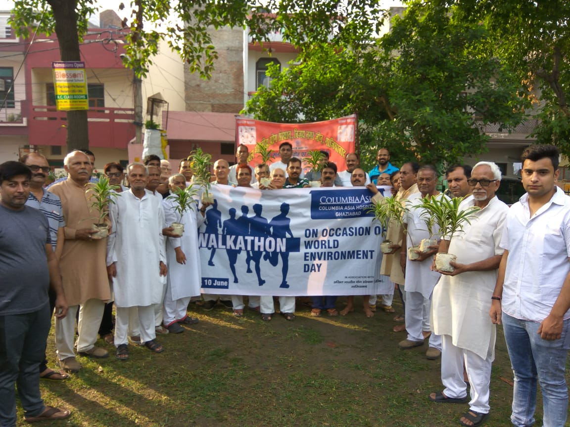 Walkathon for Environment Is a Step towards Green Health
