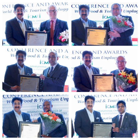 ICMEI Honored Diplomats For Tourism Promotions