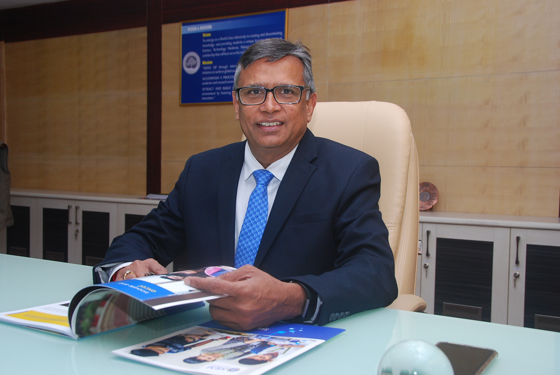 Prof. Sandeep Sancheti takes charge as President of Association of Indian Universities
