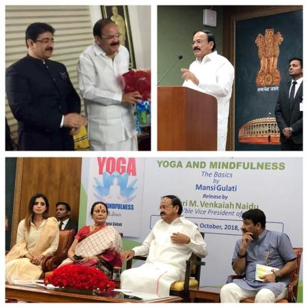 Sandeep Marwah Part of Book Release at Vice President House