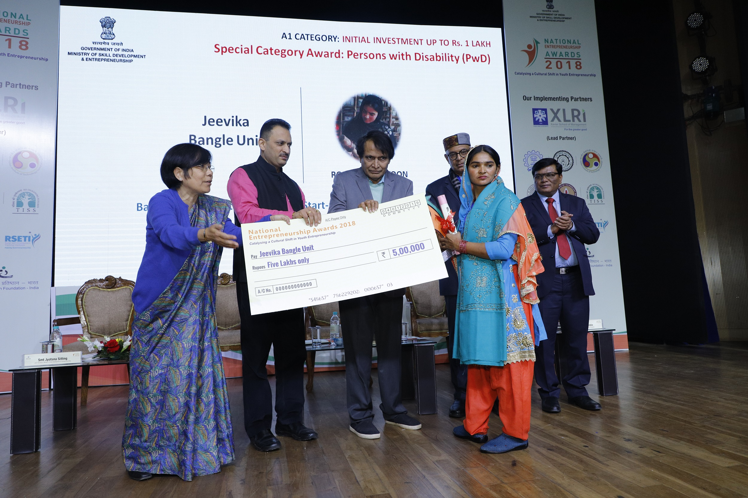 Entrepreneurs and Startups Felicitated at National Entrepreneurship Awards 2018