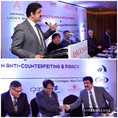 Sandeep Marwah Reminded Industry on Piracy Issues