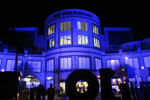DLF Promenade lit up In the Colour Blue to create awareness about Autism