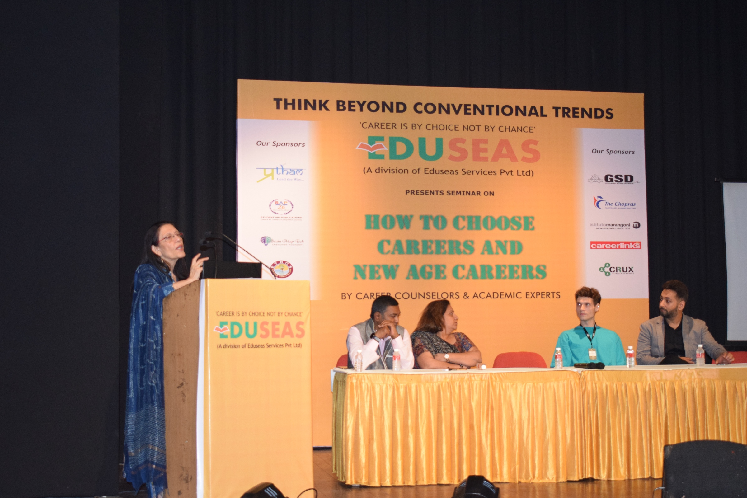 Seminar on How to Choose New Age Careers