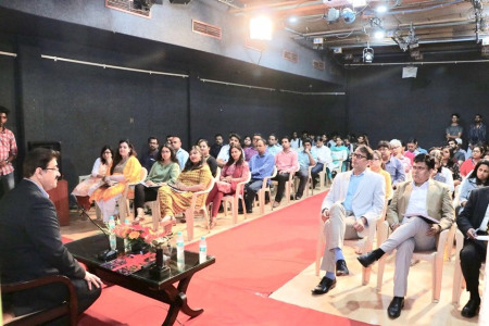 A Talk on Visit to Cannes by Sandeep Marwah