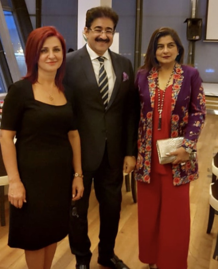 Sandeep Marwah In Azerbaijan to Promote Relations Through Arts