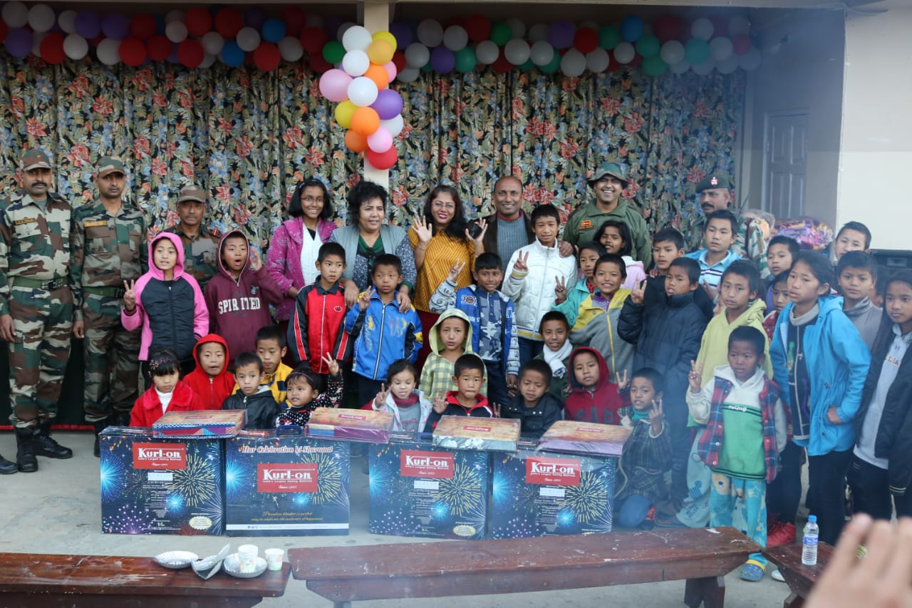 Kurl-on donates mattress, blankets and sheets to the villages in Northeast India