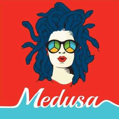 Medusa supporting Women's Volley Ball team in European Games