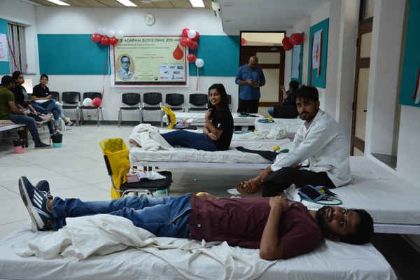 Blood Donation Drive at IIHMR University