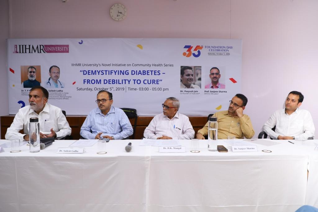 IIHMR ushers in awareness on the complications of Diabetes