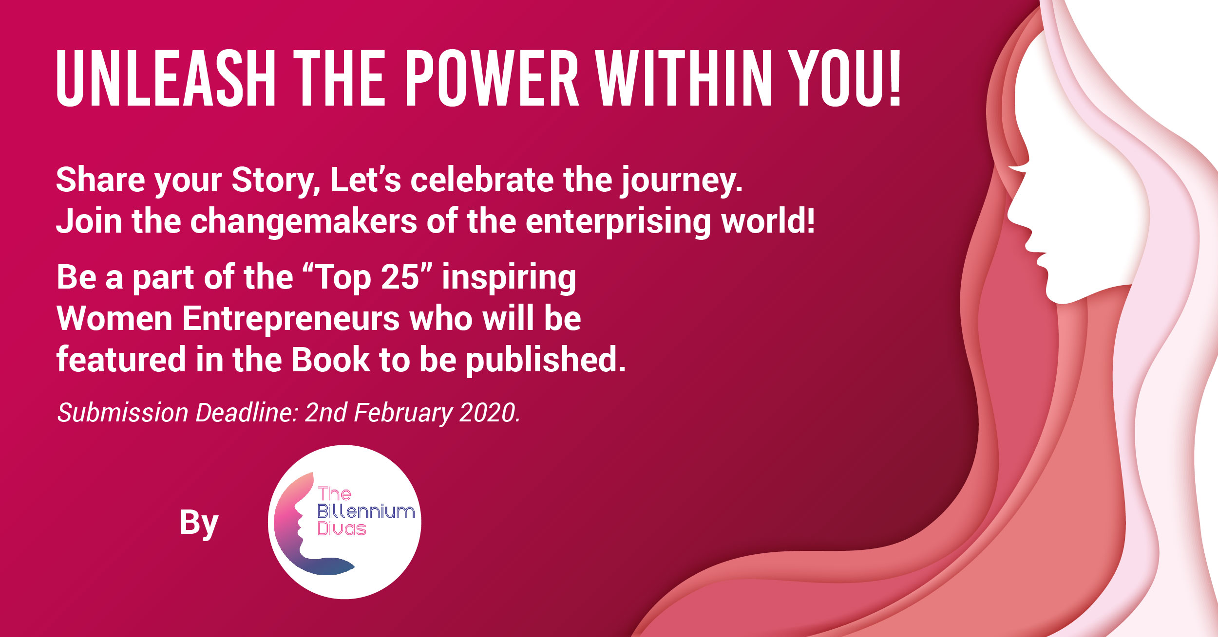Inspiring Stories of Top 25 Women Entrepreneurs in Upcoming Billennium Divas Book