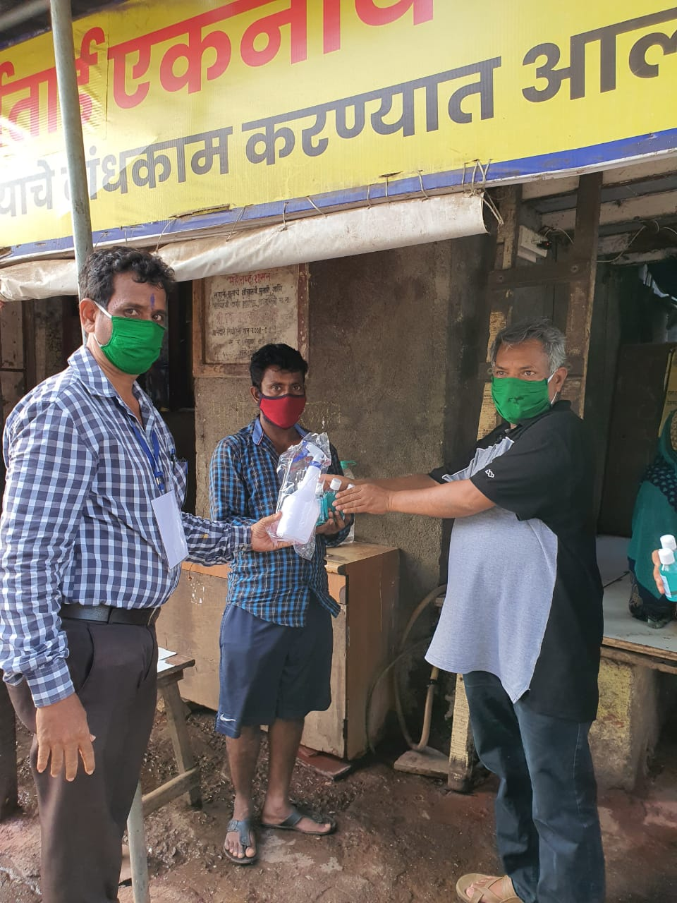 Mental Health and Sanitization Support to Dharavi Residents