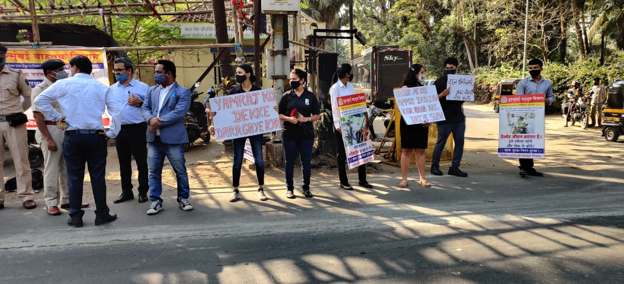 Drive Safe Road Safety Initiative organised at Madh-Marve