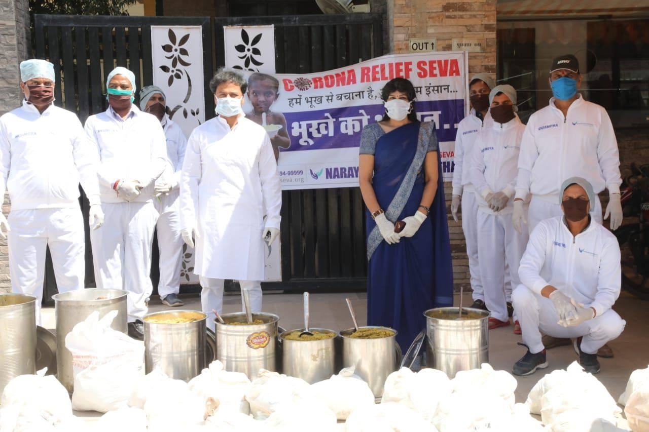 Narayan Seva Sansthan supports the destitute across 5 states